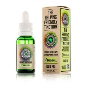 The Helping Friendly Broad Spectrum Tincture
